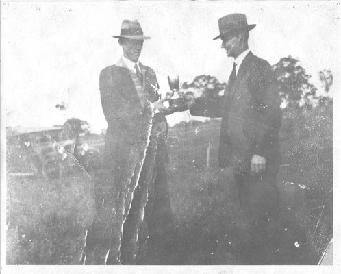 1932 George Walker, Life member, President 1964~1968 and legend of the Wang club,  as a 22 year old winning the Vic Clay Pigeon Championship at Seymour.