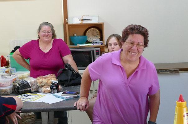 Anita Everingham & helpers