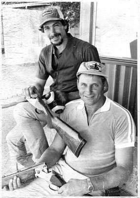 1983 Vic & Eugene Tomasoni won the Wang Clay Target Club's Winchester Tournament.