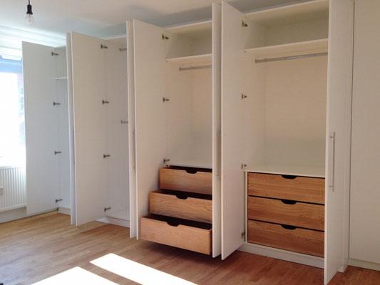 ankleidezimmer nach ma der einbauschrank de. Black Bedroom Furniture Sets. Home Design Ideas