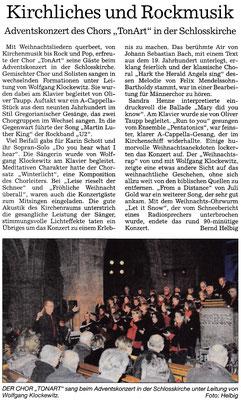 Pforzheimer Kurier vom 05.12.2016