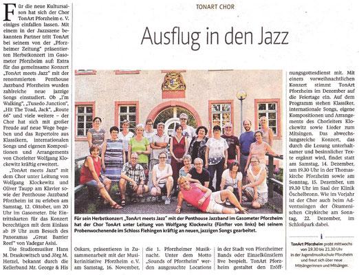 Pforzheimer Zeitung Kulturbeilage