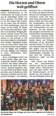Pforzheimer Zeitung vom 10.12.18