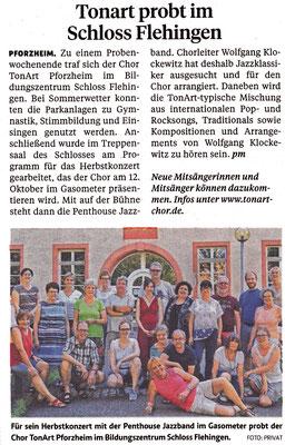 Pforzheimer Zeitung Juli 2019