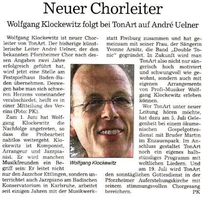 Pforzheimer Kurier vom 19.07.2015