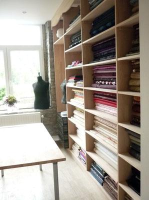 Atelier de couture - Partie tissus