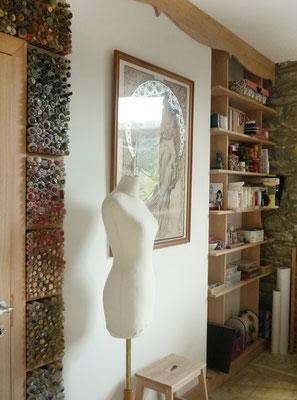 Atelier de couture - Partie boutons et accessoires