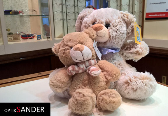 Teddy 20 und 21, vielen Dank an Familie Engel aus Halle