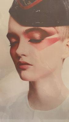 Examenvoorbeeld Peter Philips, hoofd make-up artist bij Dior