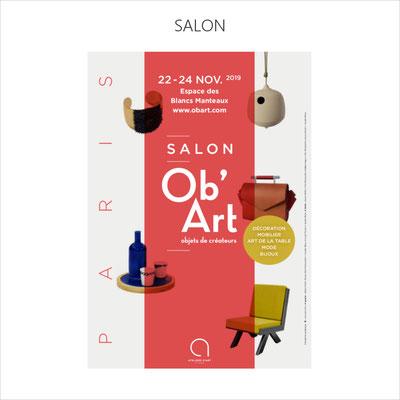 Ob 'Art, Le salon parisien qui met en valeur le meilleur des métiers d'art au coeur du Marais (3ème participation)