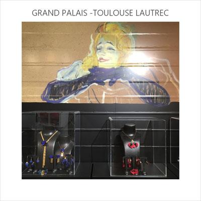 AnaGold a le privilège d'être sélectionnée et mise en scène par la boutique du Grand Palais pour la rétrospective de Toulouse Lautrec (oct 2019 à janvier 2020)