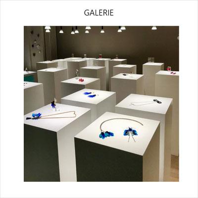 AnaGold est exposée à la Galerie de bijoux contemporains CARACTERE à Neuchâtel en Suisse