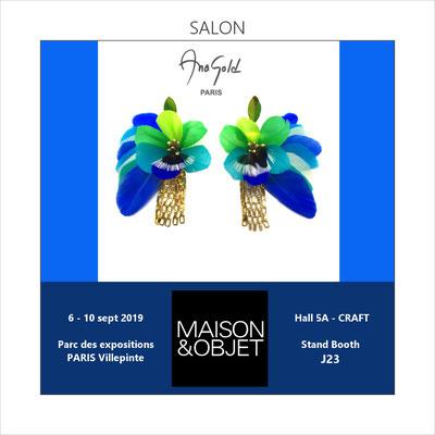 5ème participation au salon professionnel Maison & Objet