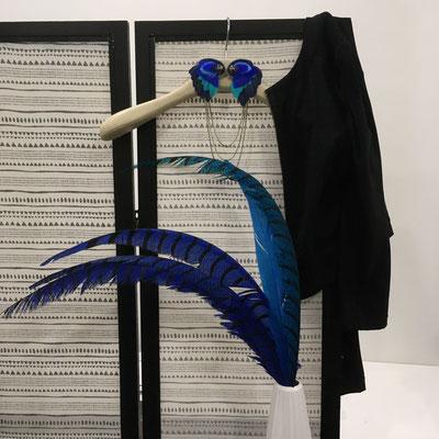 Mise en scène du bijou de cintre Angel