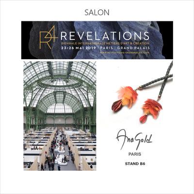 AnaGold a le privilège d'être sélectionnée par le Grand Palais pour participer à la prestigieuse Biennale Révélations