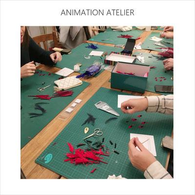 AnaGold anime un atelier de création sous le patronage de la start up Artisans d'avenir (sept 19)