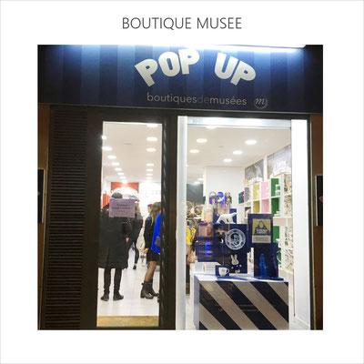 AnaGold est sélectionnée par le 1er Pop up des boutiques de musées rue de Rivoli (nov-déc 2019)