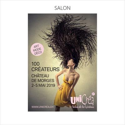 1ère participation au salon Unicréa qui se tient  à Morges, en Suisse