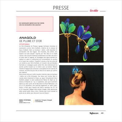 Le magazine culturel de Puteaux met à l'honneur AnaGold