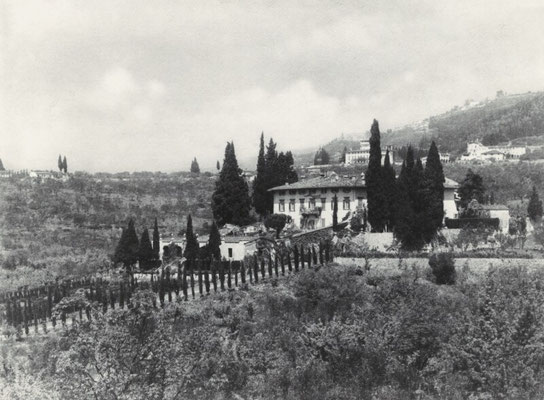 I Tati, Anwesen der Berensons bei Florenz, 1909