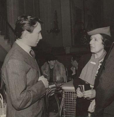Beryl de Zoete ca. 1939 mit David Lichine