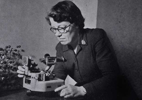 Helen Dick Megaw um 1950