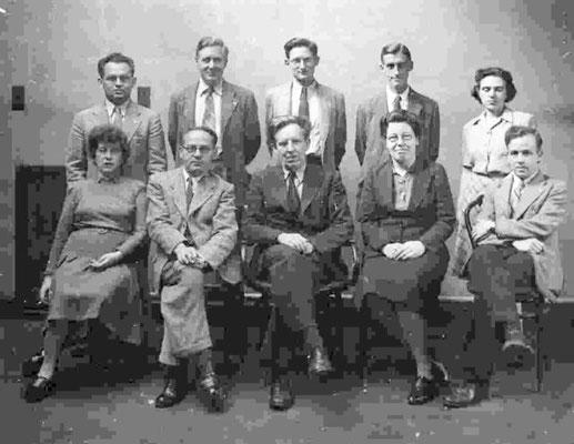 Team von John Desmond Bernal 1948