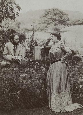 Bernard Berenson, Mary Berenson 1891