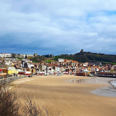 Scarborough in the UK - I think it's about my favourite UK seaside town