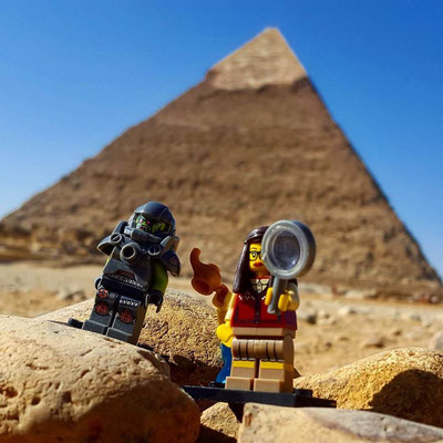 #Lego on Tour - we love our little friends  and try and take them to cool places