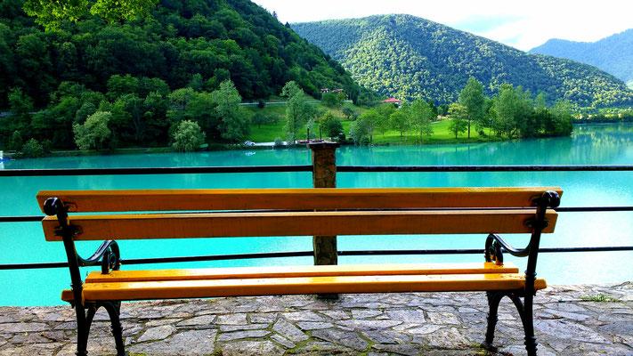Lake Soca, Bovec, Slovenia