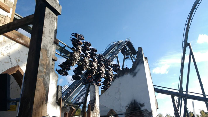 The Swarm ride - I nearly pee'd my pants!