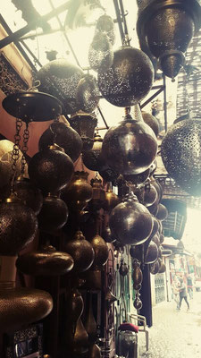 So many lamps in the medina, Marrakech, but so little room left in my bag