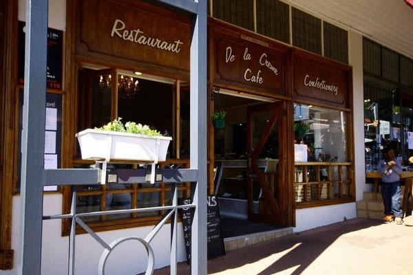Creme De La Creme Cafe does a mean Belgian Bun. Melville, Johannesburg. Dante Harker
