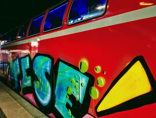 Cool train art