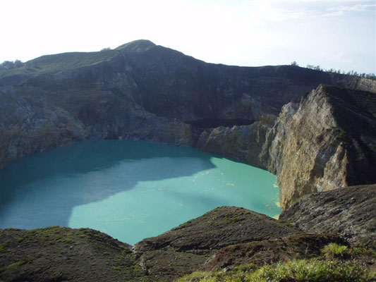 Crater lake on Flores