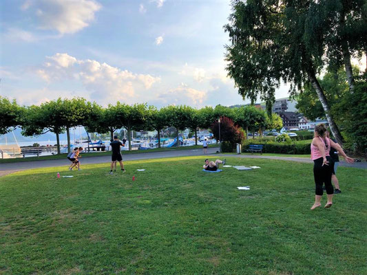 Bootcamp, Küssnacht, Groupfitness, Outdoorworkout, Fatburn Circle Training