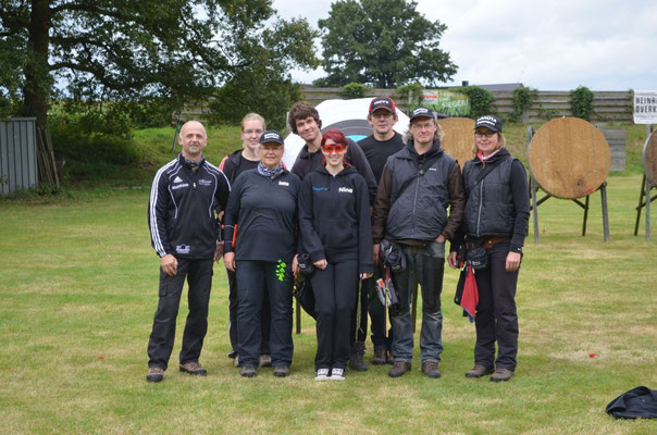 Die Leistungsgruppe von Dakota-Bogensport