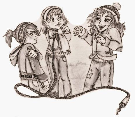 Lügengeschichten, Kinderbuchillustration