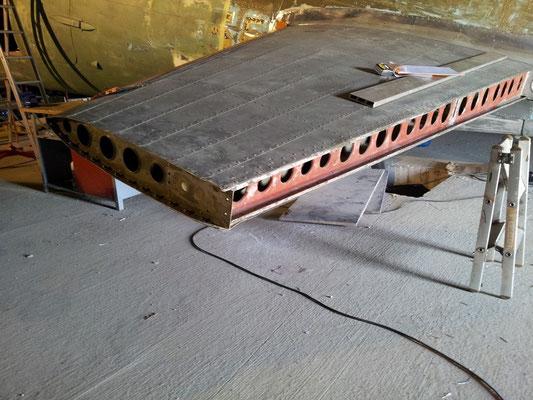 Plan horizontal arrière Stoy Hora avant travaux