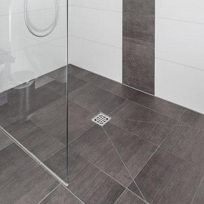 Fliesen im Duschbereich