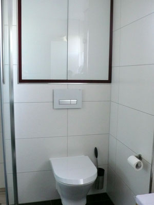 BoB Einbauschrank nach Maß über WC Vorwand