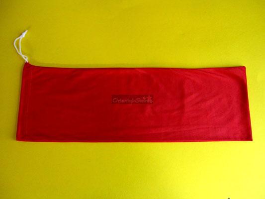 Tasche für Schleierfächer, rot