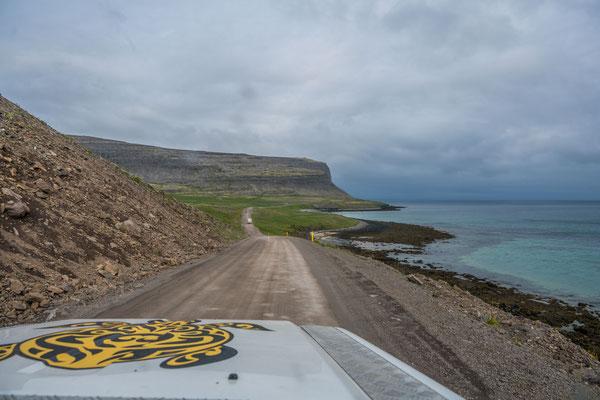 Halbinsel bei Breiðavík