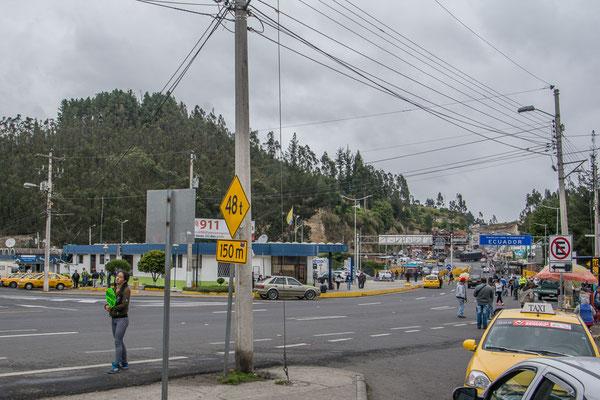 An der Grenze zu Ecuador