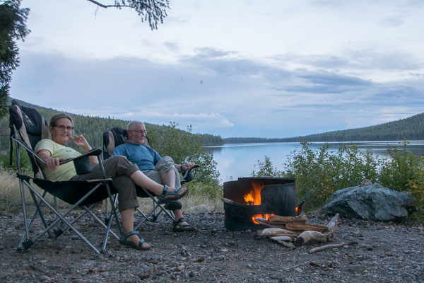 Camping am Bobtail Lake
