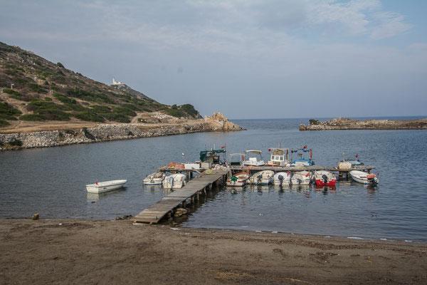 Der westliche Naturhafen von Knidos