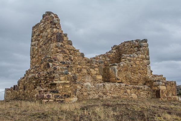 In den Ruinen von Huamachuco