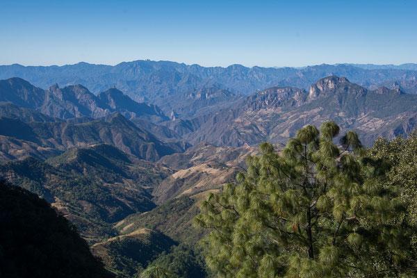 Durch die Sierra Madre