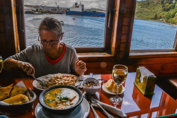 Mittagessen in Angelmo